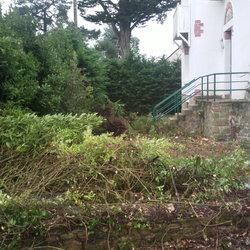 Mise à plat, debroussaillage et restructuration d'un jardin